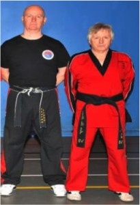Martin Paradine with Master Clive Harrison