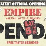Empire Martial Arts and Boxing Open Day 5 Dec 2015